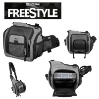 GEANTA SPRO FREESTYLE SHOULDER 2 CUTII TWISTERE INCLUSE 25X11X27CM