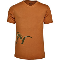 Tricou Blaser Logo V Orange Marime L
