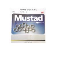 Inele Despicate Mustad, D=7,6MM/25KG/10BUC/PL.