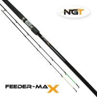 Lanseta NGT Feeder Max 3.0m 60g 2+2buc