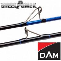 Lanseta DAM Steelpower Blue Natur 2.10m 300-800gr