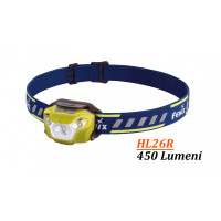 Lanterna Fenix Frontala Model HL26R YELLOW