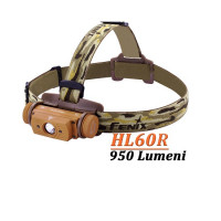 Lanterna Frontala Fenix Reincarcabila 950 Lumeni116 Metri Desert HL60R