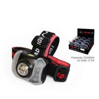 Lanterna de cap Delphin POLAR_X 5 Plus 4 LED