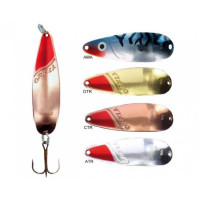 Lingura Oscilanta Rublex Orkla Nr2 13g/56mm Auriu + Cap rosu