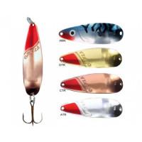 Lingura Oscilanta Rublex Orkla Nr6 24g/81mm Argint + Cap rosu