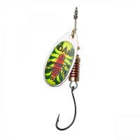 Rotativa 4gr DAM Effzett Spinner With Single Hook Fire Tiger