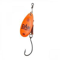 Rotativa 6gr DAM Effzett Spinner With Single Hook Orange