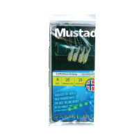 TAPARINA MUSTAD LUMINOUS SHRIMP NR.6 4BUC/PLIC