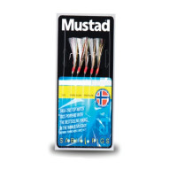 TAPARINA MUSTAD RAINBOW FLASHER NR.6 5BUC/PLIC