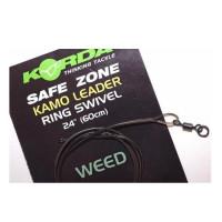 Montura Korda Ring Swivel 1m/18,1kg/weedy Green
