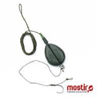 MONTURA MOSTIRO INLINE COMPLETA LEAD CORE 110G NR 2