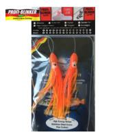 TWISTER PROFI BLINKER OCTOPUS PATERNOSTER RED FIRE 10CM NR 5/0 2 BUC PLIC