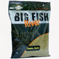 GROUNDBAIT DYNAMITE BAITS BIG FISH RIVER Cheese And Garlic 1.8KG