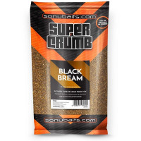 Groundbait Sonubaits Supercrumb Black 1kg