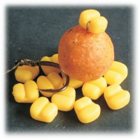 Porumb artificial Enterprise Tackle Sweetcorn Hair Stop - Mini Yellow