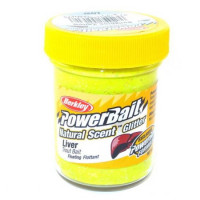 Pasta Flotanta Solubila Berkley Pentru Pastrav 50g Liver - Sunshine Yellow