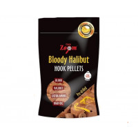 Carp Zoom Strawberry Bloody Halibut Pellets 20mm