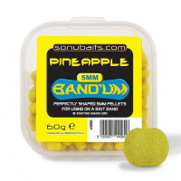 MINI PELETE SONUBAITS MINI BANDUM 5MM 60G Pineapple
