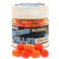 Pelete Haldorado Hybrid Method Pellet 20g Sepie cu Chili  Chili And Squid