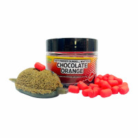 Pop Up Dumbells MG Special Carp Soft Feeder Chocolate Orange, 10mm, 40g
