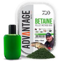 Pelete Daiwa Advantage Method Box + Booster 500g/cutie Green Betain