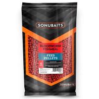 Pelete Sonubaits Feed Pellet 6mm Bloodworm Fishmeal