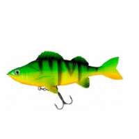 Swimbait DAM Effzett 140 mm Firetiger Natural Perch