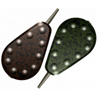Plumb DKS Full Grip Inline Lead Maro/Verde 2buc/plic 70g