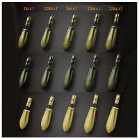 Plumb Gemini Arc Leadsystem Silt Brown 4 OZ 113GR 5buc/cutie