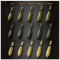 Plumb Gemini Arc Leadsystem Weed Green 3 OZ 85Gr 5buc/cutie