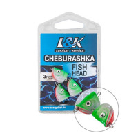 L And K Cheburashka Fish Head 6g 3buc/plic