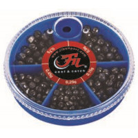Set Plumbi Filfishing Alice Despicate 5 Compartimente 0.15-0.90g