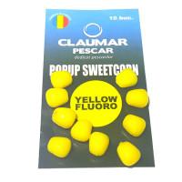 Porumb Flotant Claumar 10Buc Galben Fluoro