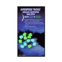Porumb artificial Enterprise Tackle Sweetcorn Hair Stop - Mini NITEGLOW BLUE  GREEN