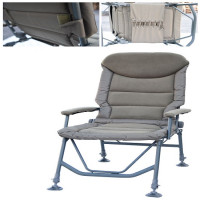 SCAUN CARP ZOOM MARSHAL VIP ARMCHAIR 52x59x43 110cm