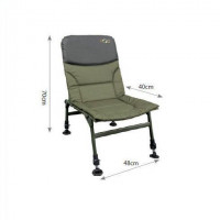 Scaun Carp Spirit Level Chair 70x48x40cm fara cotiera