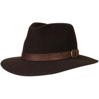 Palarie Blaser Travel Dark Brown Mottled Mar. 57
