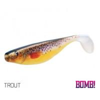 SHAD DELPHIN  BOMB HYPNO / 3buc 9 cm/3d trout