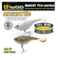 Spinnertail Biwaa Divinator Kompact 90 Gold Perch 9cm 55g 1buc