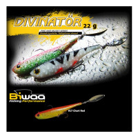 Spinnertail Biwaa Divinator Medium Chart Red Back 18cm 35g
