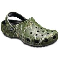 Papuci Crocs Classic Graphic Clog Black/camo Marimea 41,42 M8