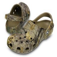 Papuci Crocs Classic Realtree Xtra Clog M Khaki Marimea 43,44 M10