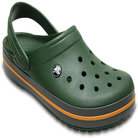 vânzări la cald preț rezonabil super dragut Papuci Crocs Crocband Forest Green/Slate Grey Marimea 45,46 M11 ...