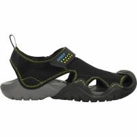 Papuci Crocs Swiftwater Sandal Black/Charcoal Marimea 42,43 M9