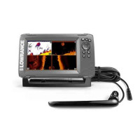 Sonar Lowrance HOOK2-7X Triple Shot TotalScan GPS