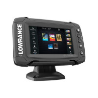 Sonar cu DownScan si StructureScan Plus Chartplotter LOWRANCE ELITE-5 TI TOTALSCAN 83/200 455/800 KHZ Plus STRUCTURE SCAN