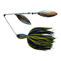 SPINNERBAIT BERTILURE Salcie nr.2 Salcie nr.3, 14gr,Skirt Siliconic Blue-Chartreuse