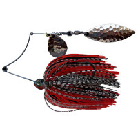 SPINNERBAIT BERTILURE Shallow Killer Colorado-Salcie, 7g, Culoare White/Black - Red
