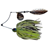 SPINNERBAIT BERTILURE Shallow Killer Colorado-Salcie, 7g, Culoare White-Chartreuse